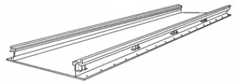 SQUARE D RSV062100120 : TRENCH DUCT STRAIGHT LENGTH 10 FT