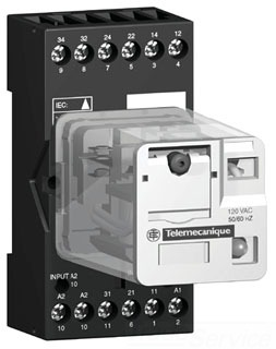 Square D/Telemecanique Square D Rumc3Ab2Bd Plug-In Relay 240V at Sears.com