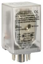 Square D 8501KP12V20 - Relay 120VAC 10AMP Type K +Options