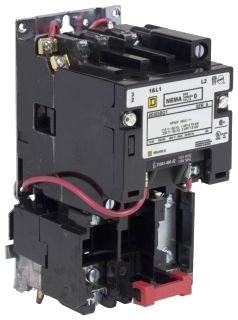 Square D 8536SBO2V02S - Full Voltage Starter (Type S) Non-Reversing, 18A, Size: 0, 3-Phase