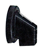 SQUARE D 9001B11 : 30MM SHORT HANDLE FOR SELECTOR SWITCH BLACK