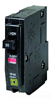 SQUARE D QO130 : MINIATURE CIRCUIT BREAKER 120/240V 30A