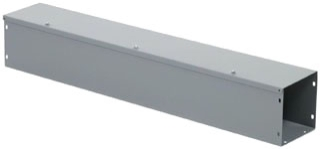SQD LDB63 6X6X3FT GRAY WIREWAY **CLOSING PLATES NOT INCLUDED - ORDER SEPARATELY