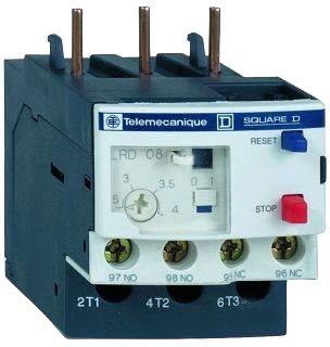 Square D LRD32 - Overload Relay (TeSys D) Class 10 with Single Phase Sens., Trip: 23A to 32A