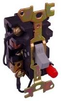 Square D 2510FO2 - Fractional Horsepower Manual Starter Non-Reversing, Toggle Oper., 2-Pole, Type F