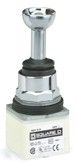 SQUARE D 9001K35H4 : JOYSTICK 600VAC 10A 30MM T-K