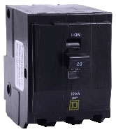 SQUARE D QO315 : MINIATURE CIRCUIT BREAKER 240V 15A