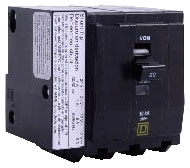 SQUARE D QO320 : MINIATURE CIRCUIT BREAKER 240V 20A