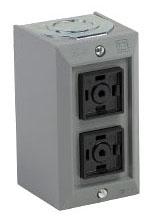 SQUARE D 9001BG214 : CONTROL STATION 600VAC 5A T-B