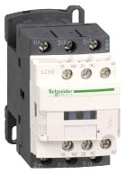 SQUARE D LC1D25G7 : CONTACTOR 600VAC 25AMP IEC +OPTIONS