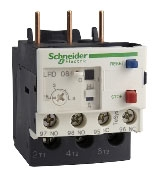 Square D LRD10 - Overload Relay (TeSys D) Class 10 with Single Phase Sens., Trip: 4.0A to 6.0A