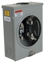 SQUARE D 1003880A : METER SOCKET 100AMP OH+UG +OPTIONS