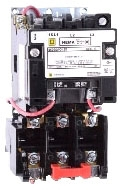 Square D 8536SCO3V02S - Full Voltage Starter (Type S) Non-Reversing, 27A, Size: 1, 3-Phase