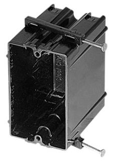 BOWERS 120-N PLASTIC SWITCH BOX Product Image