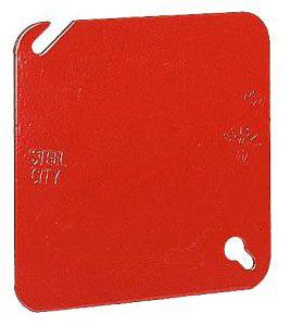 STL-CTY 52-C-1RD RED SQ OLET BX CVR