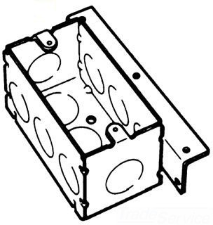BOWERS 103-W-AB 4X1-7/8D HANDY BOX Product Image