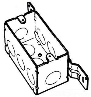 BOWERS 104-W-FB-1/2 4X2-1/8D BOX Product Image