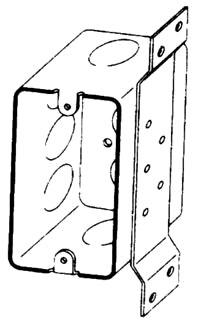 BOWERS 106-FB-1/2 4-1/8X2-3/16 BOX Product Image