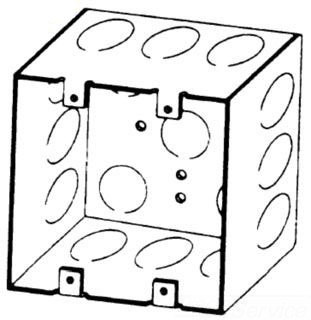 BOWERS 132-W-1/2 2G 4X2-1/8D SW BOX Product Image
