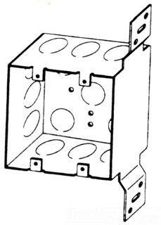 BOWERS 132-W-FB-1/2 2G 4X2-1/8D BOX Product Image