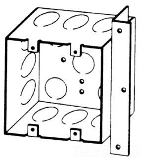 BOWERS 132-W-AB-1/2 2G 4X2-1/8D BOX Product Image