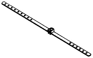 BOWERS 12-BC 20-IN STR BAR HANGER Product Image