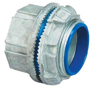 """T&B H150-TB 1-1/2"""" Zinc Conduit Hub"""
