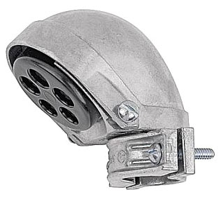 "Steel City SH-106 2"" Aluminum Entrance Cap Clamp-On Type for Rigid/IMC Conduit"