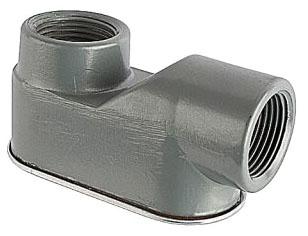 "Blackburn WEL-75 3/4"" Aluminum Type WEL Entrance Elbow for Rigid/IMC Conduit"