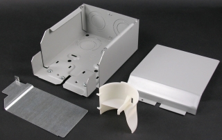 WIREMOLD G4010DFO : FIBERREADY ENTRANCE END FITTING GRAY