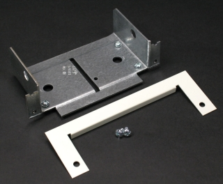 WIREMOLD V4086A : STEEL PANEL CONNECTOR 4000 IVORY
