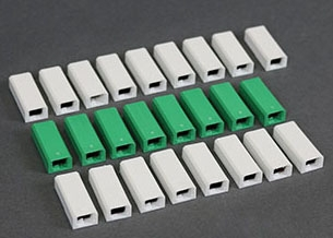 WIREMOLD W30/W30G : W30 AND W30G PACKED 24 PCS TO A CTN