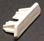 WIREMOLD 810B : NON-METALLIC BLANK END FITTING 800 IVORY