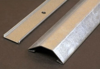 "Wiremold WM 1500-10: Raceway Base & Cover- .040"" [1mm] galvanized steel. Packed ten 10' [3m] lengths per carton. Base has 9/32"" [7.1mm] diameter mounting holes on centers of approximately 8"" [203mm]."