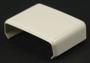 WIREMOLD 806 : NON-METALLIC COVER CLIP 800 IVORY